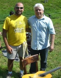 Con Lula Galvao